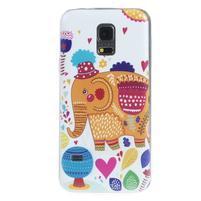 Ultratenký obal na mobil Samsung Galaxy S5 mini - slon