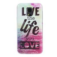 Ultratenký obal na mobil Samsung Galaxy S5 mini - life