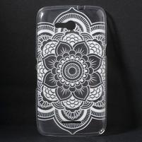 Gelový obal na Sony Xperia E4g - henna