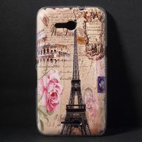 Gelový obal na Sony Xperia E4g - Eiffelova věž