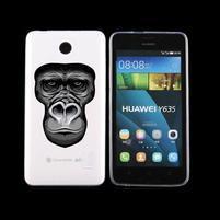 Animal gelový obal na Huawei Y635 - opice