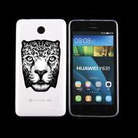 Animal gelový obal na Huawei Y635 - leopard