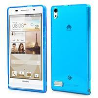 Gelové pouzdro na Huawei Ascend P6 - modré