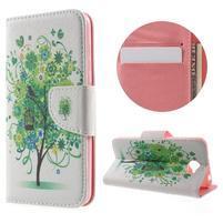 Emotive peněženkové pouzdro na Huawei Y5 II - zelený strom