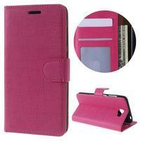 Clothy peněženkové pouzdro na Huawei Y5 II - rose