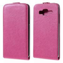 Flipové pouzdro na Samsung Galaxy J5 - rose