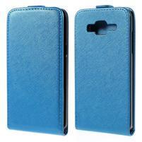 Flipové pouzdro na Samsung Galaxy J5 - modré