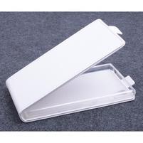 PU kožené flipové pouzdro na Lenovo P70 - bílé