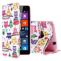 Safety pouzdro na mobil Microsoft Lumia 535 - sovičky