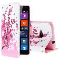 Safety pouzdro na mobil Microsoft Lumia 535 - kvetoucí větvička