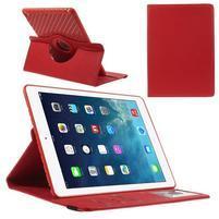 Circ otočné pouzdro na Apple iPad Air - červené
