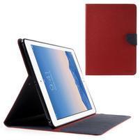 Diary peněženkové pouzdro na iPad Air - červené