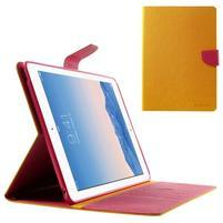 Excelent Diary pouzdro pro iPad Air 2 - oranžové