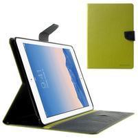 Excelent Diary pouzdro pro iPad Air 2 - zelené