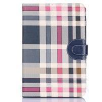 Fashion style pouzdro na iPad Air 2 - tmavě modré