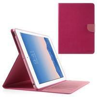 Diary peněženkové pouzdro na iPad Air - rose