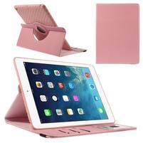 Circ otočné pouzdro na Apple iPad Air - růžové