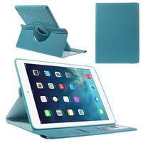Circ otočné pouzdro na Apple iPad Air - světlemodré