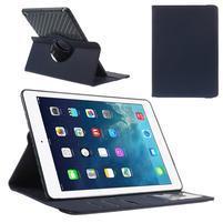 Circ otočné pouzdro na Apple iPad Air - tmavěmodré