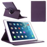 Circ otočné pouzdro na Apple iPad Air - fialové