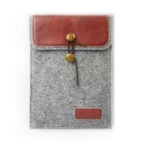 Envelope univerzální pouzdro na tablet 22 x 16 cm - červené