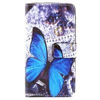 Pouzdro na mobil Microsoft Lumia 640 - motýlek