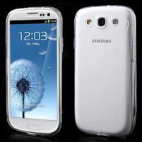 Ultratenký slim 0.6 mm obal na Samsung Galaxy S III / S3 - transparentní
