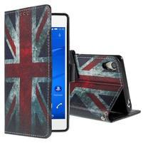 Styles pouzdro na mobil Sony Xperia Z3 - UK vlajka