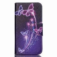 Luxy peněženkové pouzdro na Acer Liquid Z530 - kouzelní motýlci