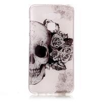 Emotive gelový obal na mobil Asus Zenfone 3 Max ZC553KL - lebka