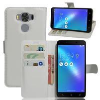 Corss PU kožené pouzdro na Asus Zenfone 3 Max ZC553KL - bílé