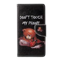 Emotive peněženkové pouzdro na Asus Zenfone 3 Max ZC553KL - nešahat