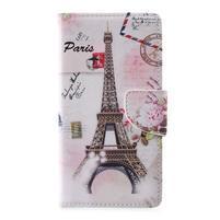 Emotive peněženkové pouzdro na Asus Zenfone 3 Max ZC553KL - Eiffelova věž
