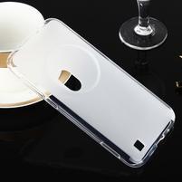 Gelový matný obal na mobil Asus Zenfone Zoom - bílý