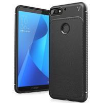 IVS gelový obal s texturou na Huawei Y7 Prime (2018) a Honor 7C - černý
