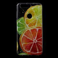 Ultratenký gelový obal na mobil Honor 8 - citrusy