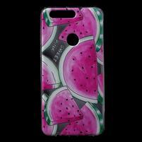 Ultratenký gelový obal na mobil Honor 8 - melouny