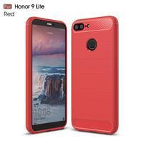 Brush odolný gelový obal na Honor 9 Lite - červený