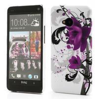 Plastový kryt na HTC One M7 - lotus