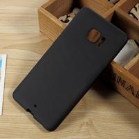Matný gelový obal na HTC U Ultra - černý
