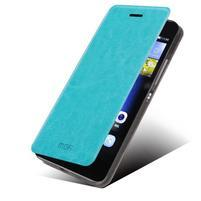 PU kožené pouzdro na Huawei P8 Lite - modré
