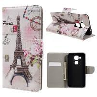 Emotive pouzdro na mobil Huawei Nova Plus - Eiffelova věž