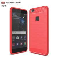 GT odolný obal se zesíleným obvodem na Huawei P10 Lite - červený