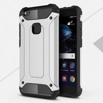 Armory odolný obal na mobil Huawei P10 Lite - stříbrný