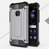 Armory odolný obal na mobil Huawei P10 Lite - šedý