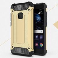 Armory odolný obal na mobil Huawei P10 Lite - zlatý