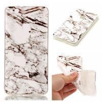 Stones gelový obal na mobil Huawei P10 Lite - bíločerný