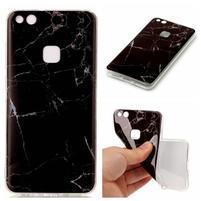 Stones gelový obal na mobil Huawei P10 Lite - černý