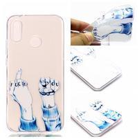 Printy gelový obal na Huawei P20 Lite - gesto
