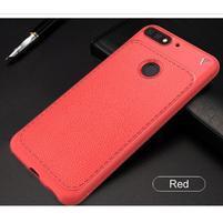 LEN gelový obal s texturou na Huawei Y7 Prime (2018) a Honor 7C - červený